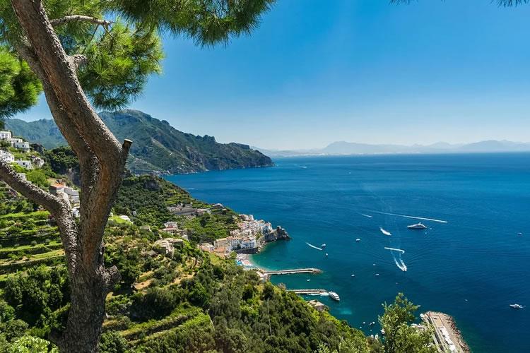 Costiera Amalfitana - alberi mare costa adotta un albero- www.amalficoastslands.it